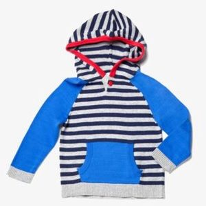 Egg by Susan Lazar Striped Knit Hoodie